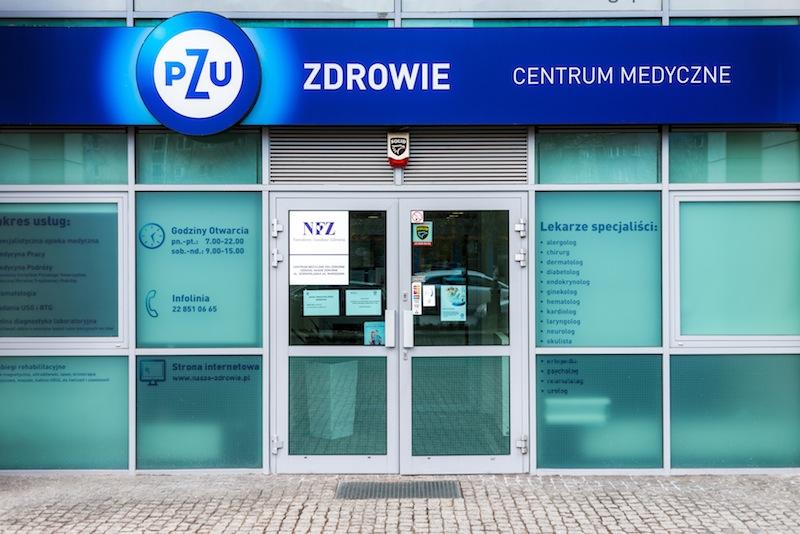 Centrum Medyczne PZU Zdrowie Warszawa Górnośląska